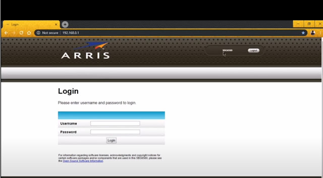 Arris Router Login