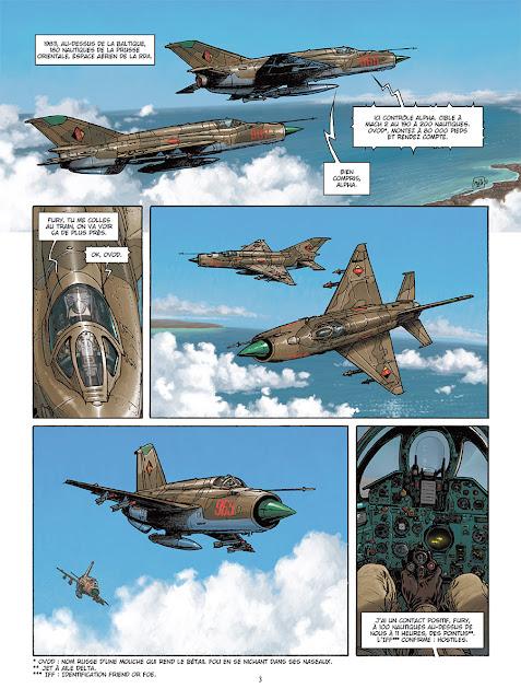 Page de LuftBallons T1 de Maza, Pecau et Fernandez chez Delcourt