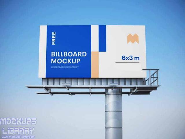 free billboard mockups psd 2