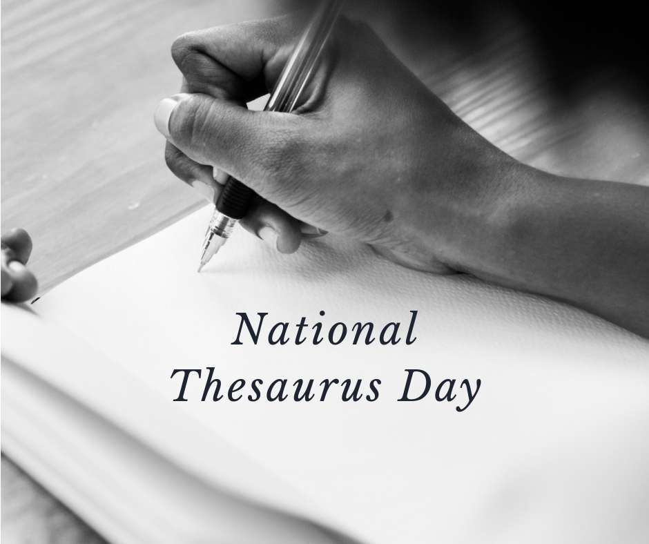 National Thesaurus Day Wishes