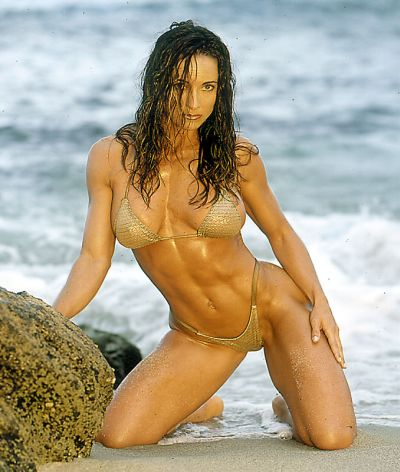Fitness competitor, Fitness model - Julie Wallis
