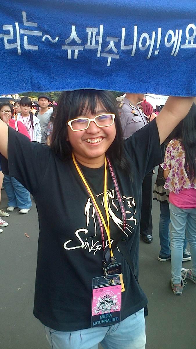 liputan konser Super Junior di Indonesia