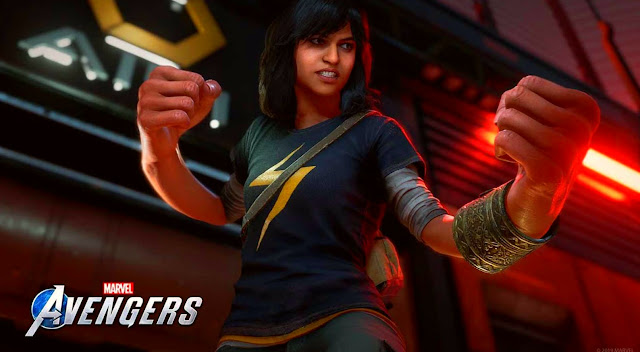 According to the publisher , Square Enix ; Ms. Marvel will be playable in Marvel's Avengers
