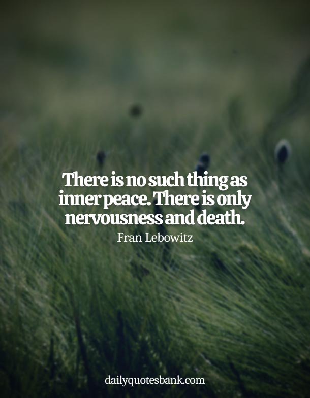 Quotes About Being At Peace After Death