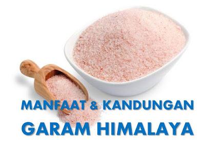 Manfaat Kandungan Garam Himalaya
