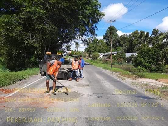 Koordinasi Antara Pemkab Landak dan Balai Pelaksana Jalan Nasional XX