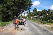 Koordinasi Antara Pemkab Landak dan Balai Pelaksana Jalan Nasional XX, Perbaikan Jalan Akibat Banjir