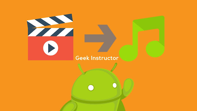 Convert video to audio on Android