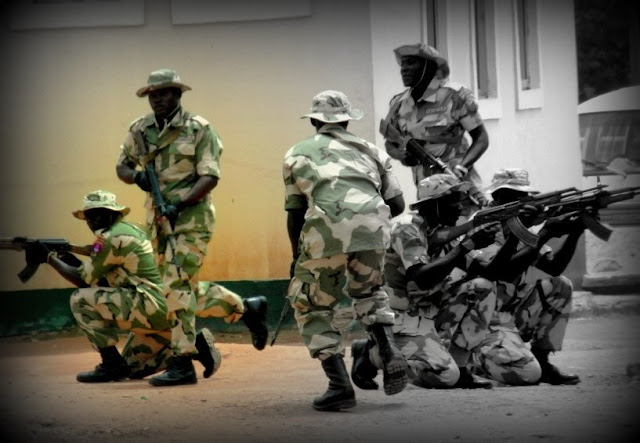 Troops repel Boko Haram terrorists in Damaturu