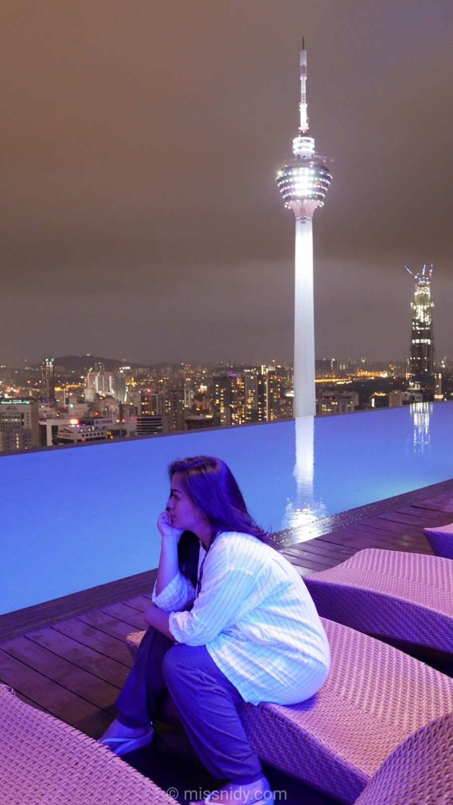 apartment infinity pool kuala lumpur malaysia