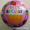 Balon Foil Bulat Motif HAPPY BIRTHDAY / Balon Foil Bulat HBD (03)