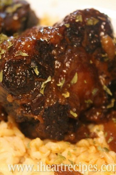 Slow Cooker Barbecue Oxtails