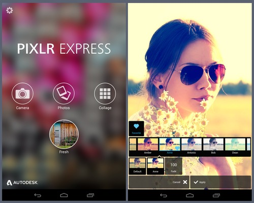 Pixlr express reliable photo editing app for Smartphone