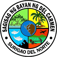 Del Carmen Municipal Seal