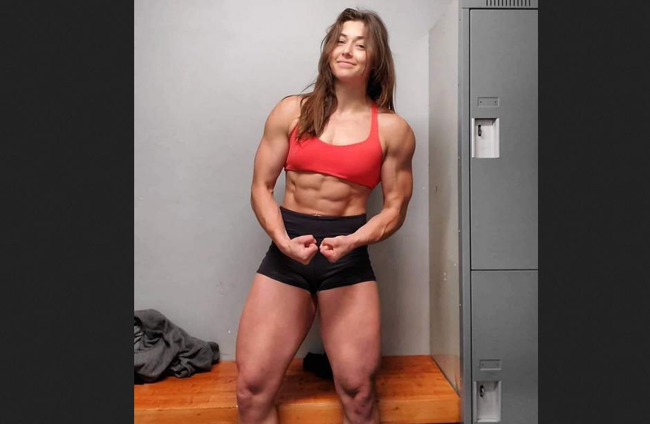 Female Muscle Amazon Goddess