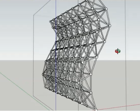How to Make Space Frame Quickly on SketchUp [Video Tutorial] - BagusGun