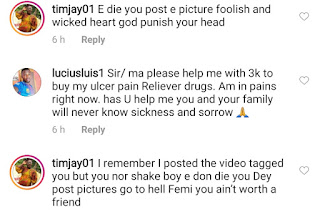 Fans Drag Oritsefemi For Mourning His Late Ex-band Member, Chi Jungulist