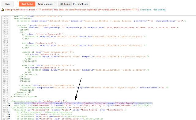 popular posts code