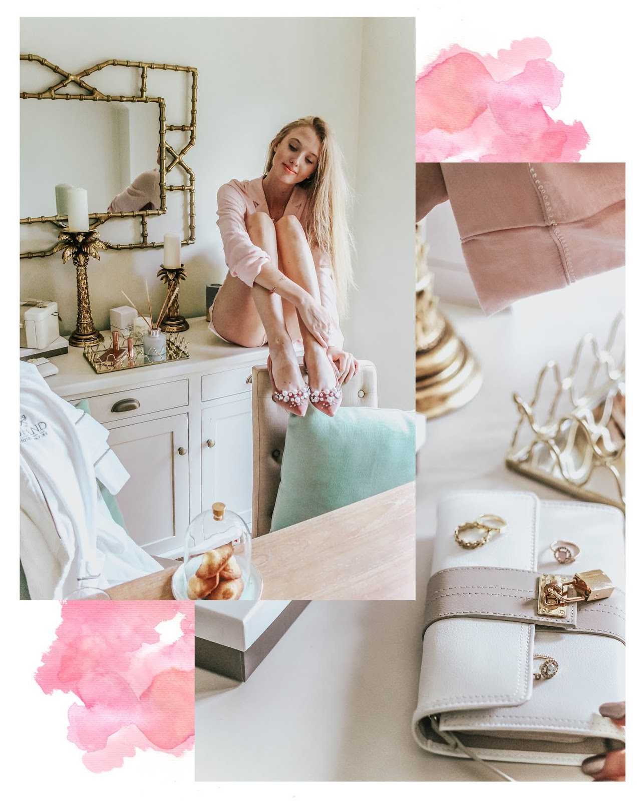 Lifestyle Blogger Pretty Pink Luxury Home Decor