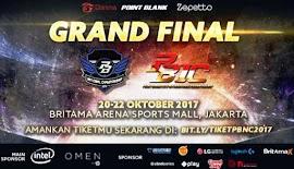 Saksikan Grand Final PBNC, PBLC, PBSC dan PBIC 2017