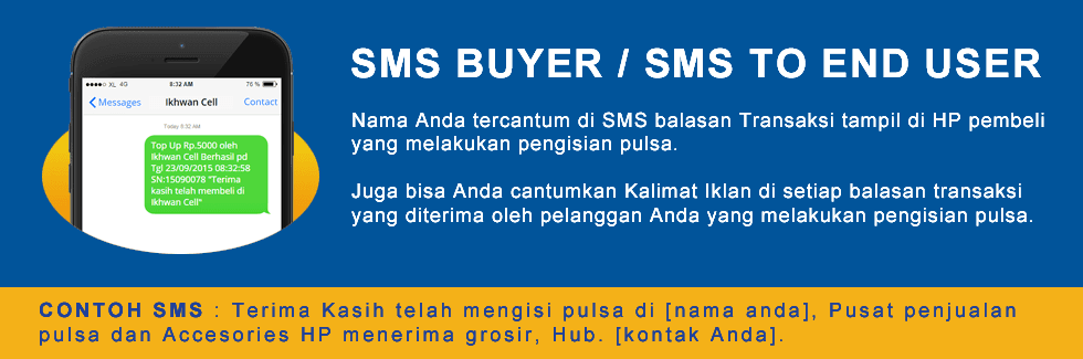 Cara Edit dan Setting SMS Buyer Topindo Pulsa Kuota Termurah