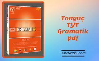 Tonguç TYT Gramatik pdf