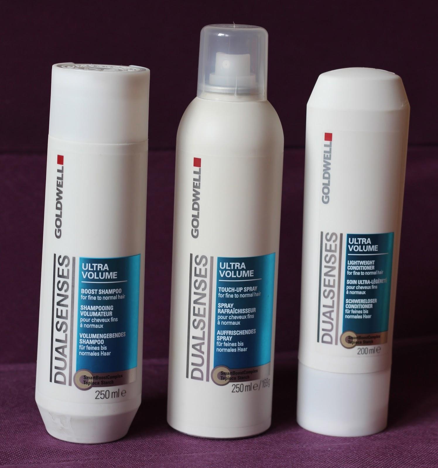Goldwell Dualsenses Ultra Volume šampon, regenerator i sprej