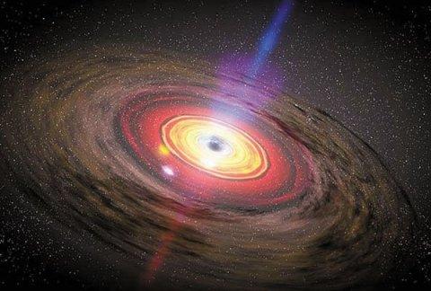 Ternyata Ada Black Hole Kecil Seukuran Atom
