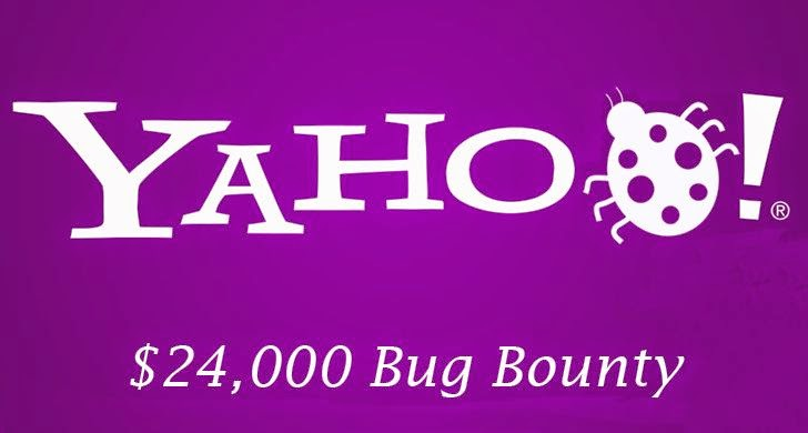 Yahoo! pays $24,000 to Hacker for finding Security Vulnerabilities