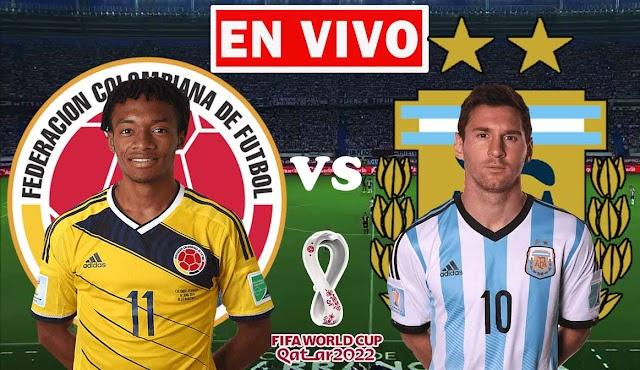 EN VIVO | Colombia vs. Argentina, Jornada 8 de las Eliminatorias Sudamericanas ¿Dónde ver gratis el partido en Tv online en internet?