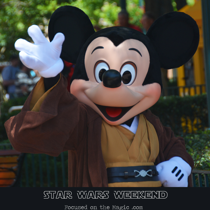 Jedi Mickey Mouse Star Wars Weekends