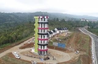 Besok, Menara Pandang di Kebun Raya Sipirok Tapsel diresmikan