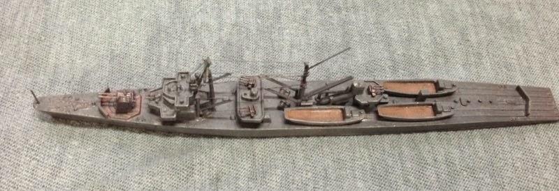 素人の艦船模型