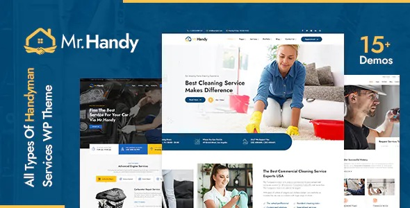 Best MrHandy Handyman Services Premium WordPress Theme
