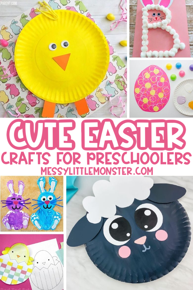 Cute Easter crafts for preschoolers