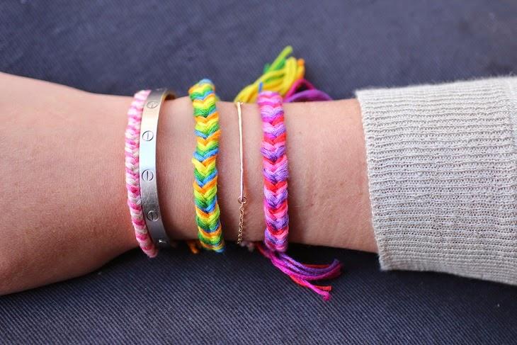 DIY Fishtail Braid Friendship Bracelet - The Idea King