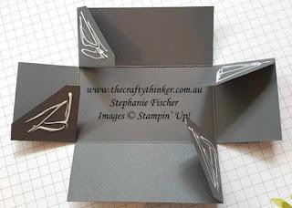 #thecraftythinker #stampinup #3dxmasbox #christmastablefavor #dashingdeer , Dashing Deer, Detailed Deer, Christmas Table Favor, Xmas Table Favour, Stampin' Up Demonstrator, Stephanie Fischer, Sydney NSW, 3D project