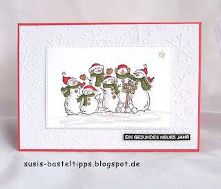 Weihnachtskarten, Stampin up, stempel, stempelsets, schneemann, diy, tipps, basteln, demonstratorin in Coburg