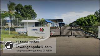 Lowongan Kerja Terbaru PT. Katolec Indonesia
