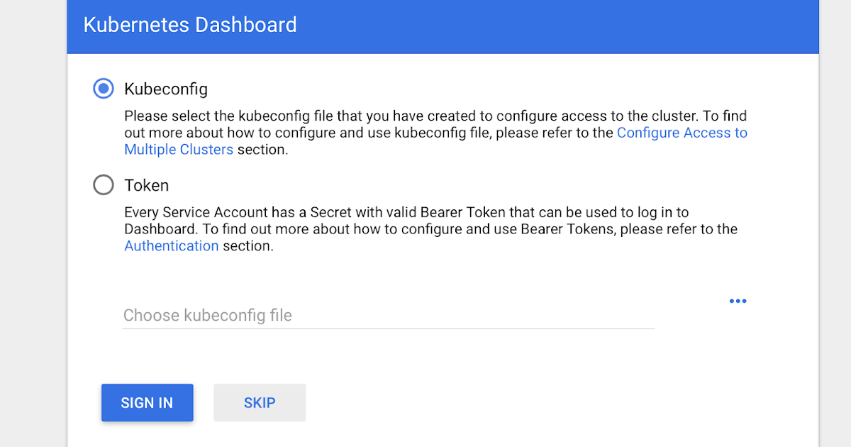 How to start Dashboard in a test Kubernetes Cluster | Open Knowledge