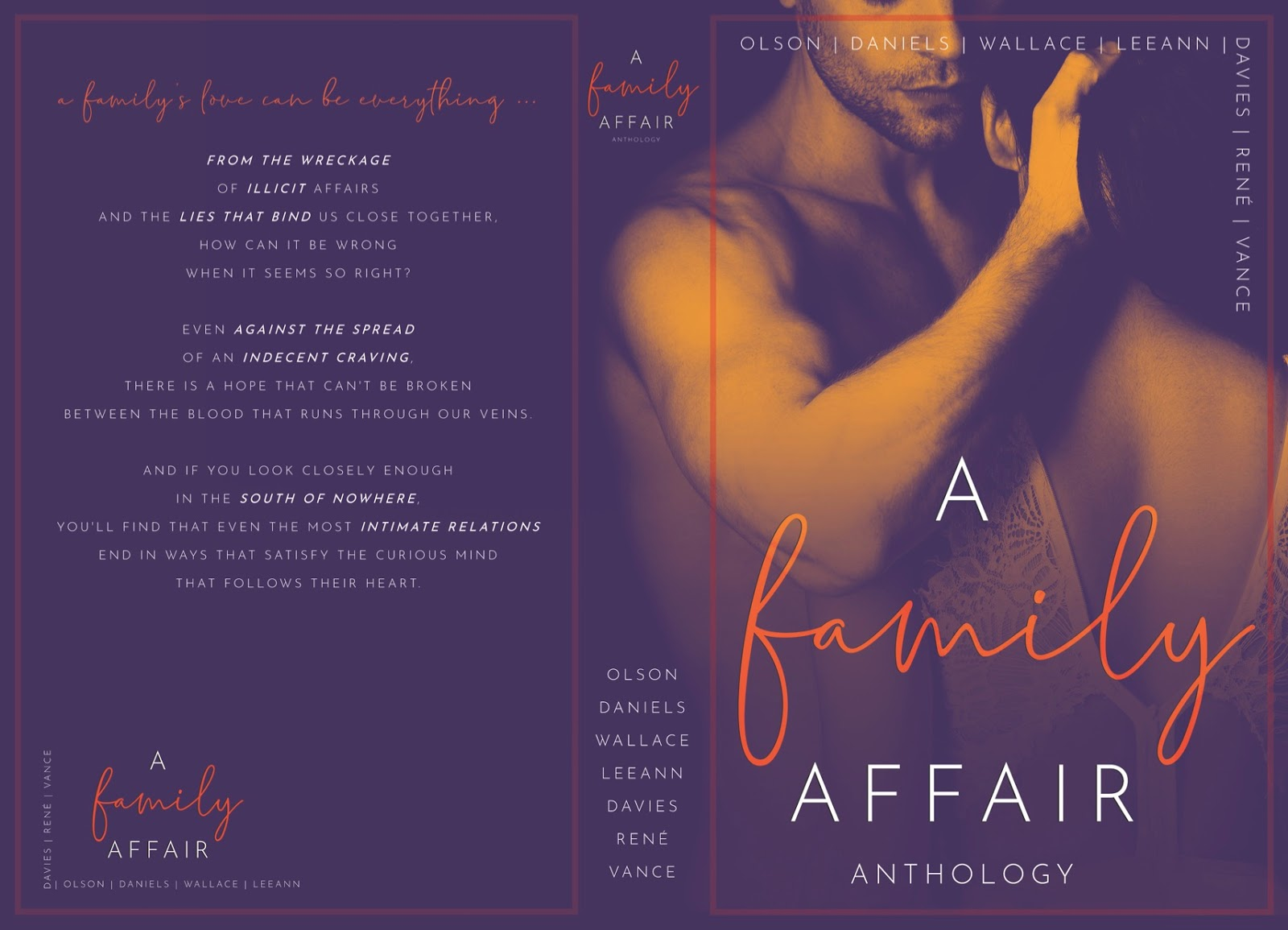 New Release A Family Affair Anthology Release