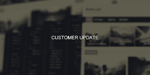 Customer Update
