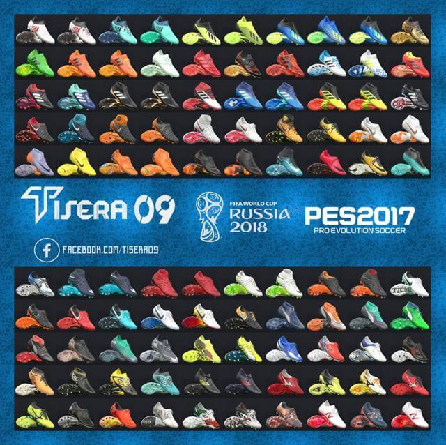 New Bootpack World Cup Russia 2018 For PES 2017