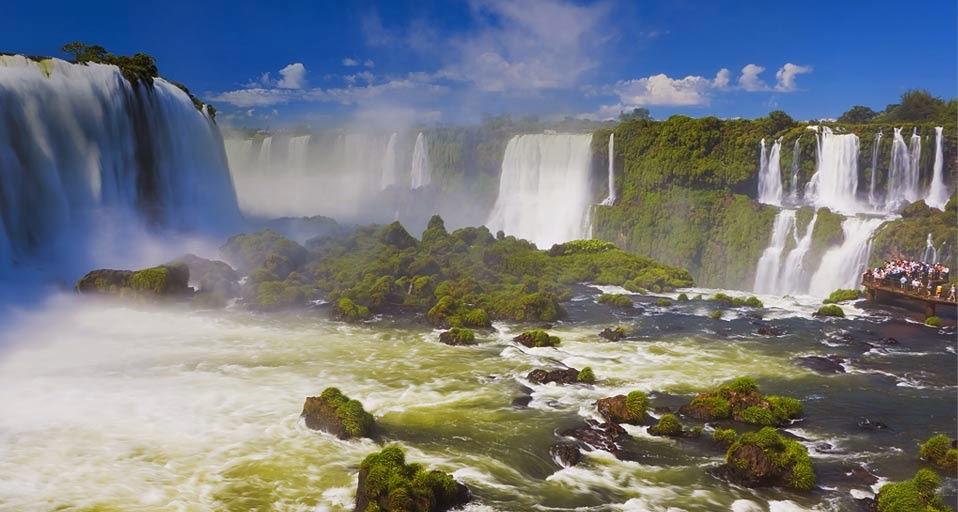 Iguazu Falls Desktop Wallpaper Bing Wallpaper July 22 2011