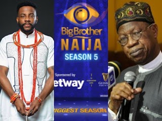 'I Didn't Ask NBC To Suspend BBNaija' - Lai Mohammed Debunks