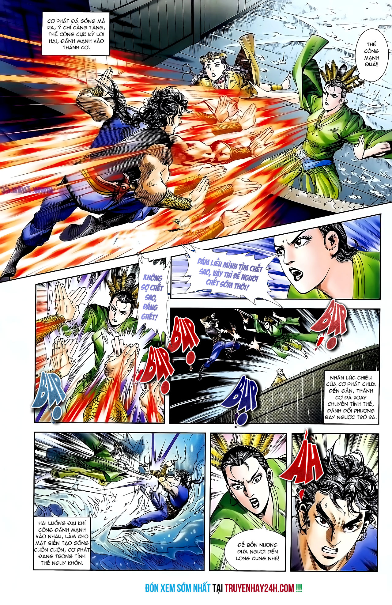 Cơ Phát Khai Chu Bản chapter 128 trang 29