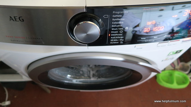 AEG 9000 series washing machine