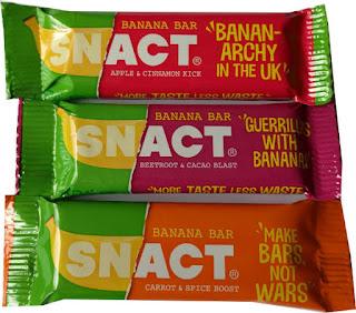 Snact Banana Bars