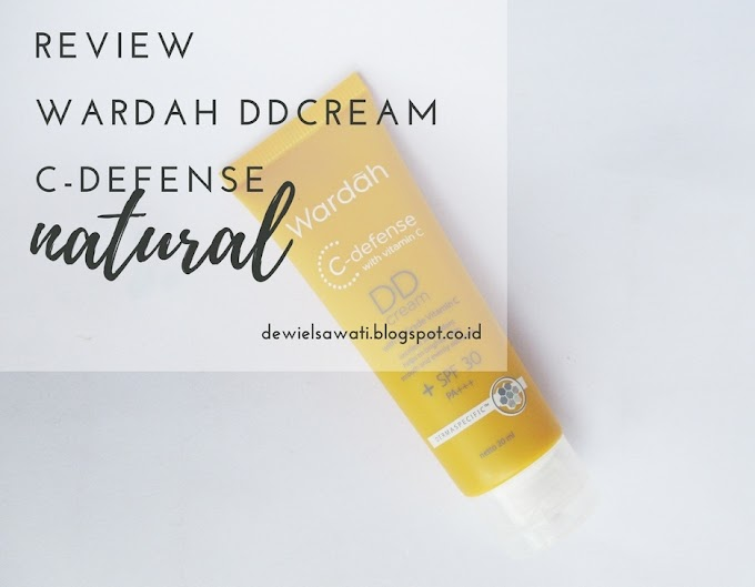 Wardah DD Cream C-defense Review in Natural