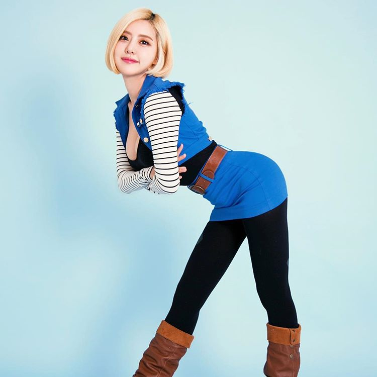 dj soda sexy android 18 cosplay 05